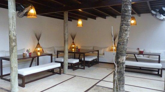 La Villa Jericoacoara: espace petit déjeuner