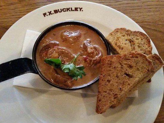 F.X. Buckley Steakhouse : Kidneys