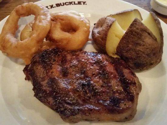 F.X. Buckley Steakhouse : Photo of F.X.Buckley. Steakhouse Crow Street Temple Bar taken with TripAdvisor City Guides