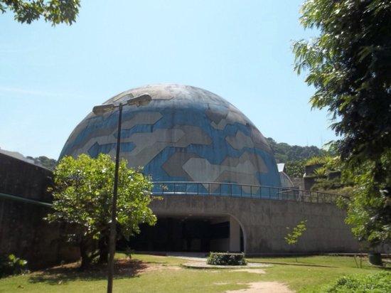 Fundação Planetário da Cidade do Rio de Janeiro & Museu do Universo: Entrada