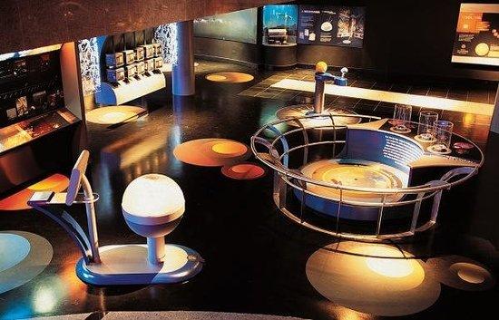 Fundação Planetário da Cidade do Rio de Janeiro & Museu do Universo: Espaço interno