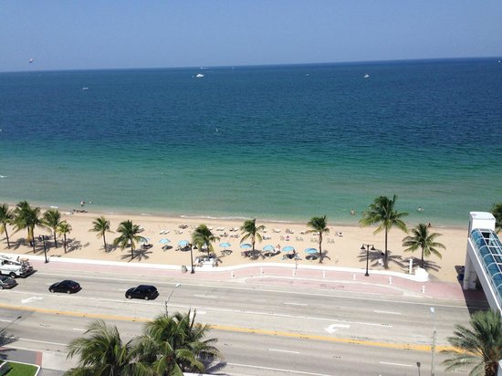 The Westin Beach Resort, Fort Lauderdale: View from 12th floor - room 239
