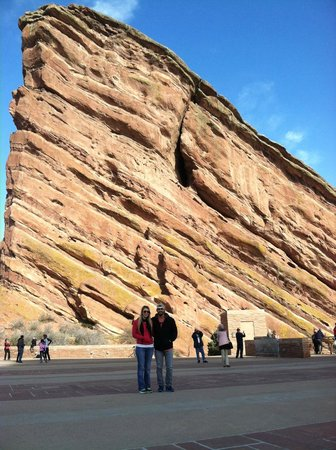 Red Rocks Park and Amphitheatre: Giant Red Rock