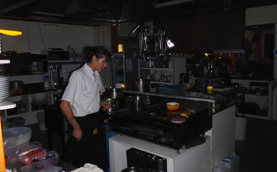 Last Resort: Cooking dinner in the dark