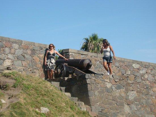 Puerta de la Ciudadela: Belo visual do alto