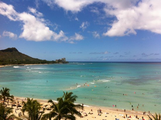 The Royal Hawaiian, a Luxury Collection Resort: View from room 682