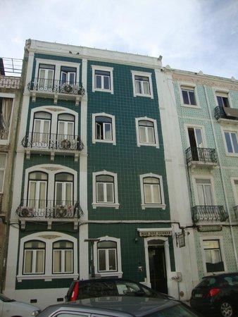 Residencia Mar dos Acores : Fachada do Hotel