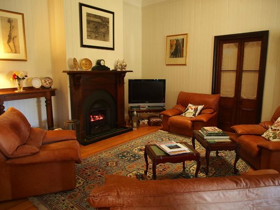 B&B Wanulla : The very homely guest lounge area