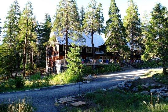 Breitenbush Hot Springs: the lodge