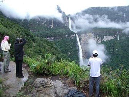 Chachapoyas Backpackers Hostal: La catarata de Gocta con 771 de altura para su visita