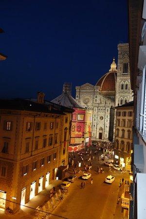 B&B La Dimora degli Angeli : view from the room at night