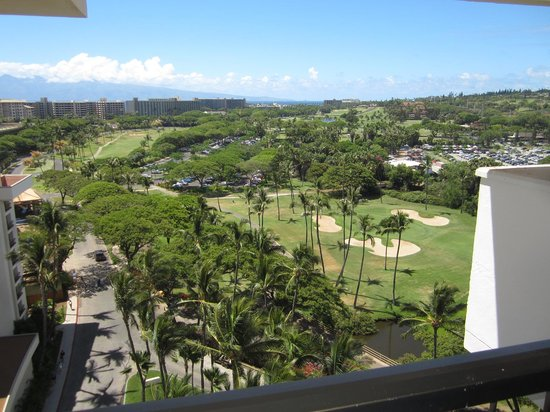 Hyatt Regency Maui Resort and Spa: view of golf course