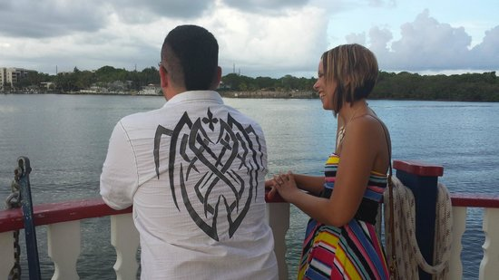Island Time Cruises: Our favorite pic, thanks to The Crew, this pic reminds us of being carefree!!