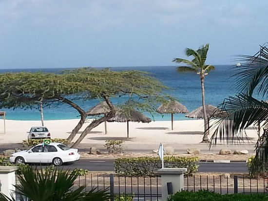 Oceania Residences: View of beach across the street