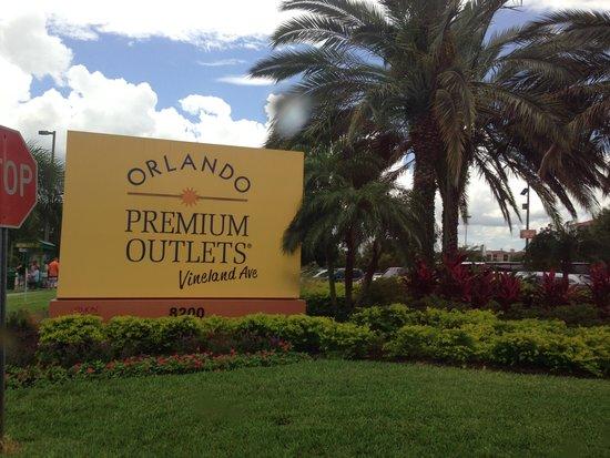 Orlando International Premium Outlets: Muito bom!