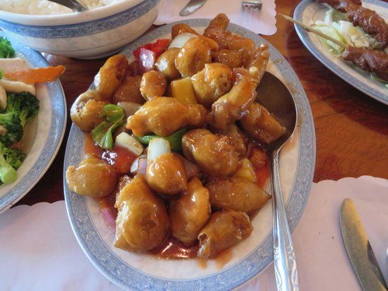 Tang's Chinese Restaurant : Sweet and Sour pork