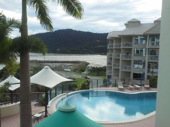 Blue Horizon Resort Apartments : View from our verandah.