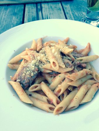 The Bicycle Thief: Penne Salsiccia was spicy & delicious
