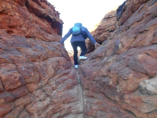 Kings Canyon: A lot of climbing, sometimes through difficult terrain.