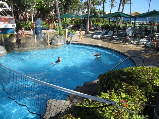 Marriott's Maui Ocean Club  - Lahaina & Napili Towers: kids pool area