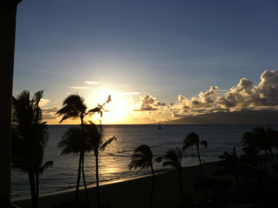 Marriott's Maui Ocean Club  - Lahaina & Napili Towers: sunset