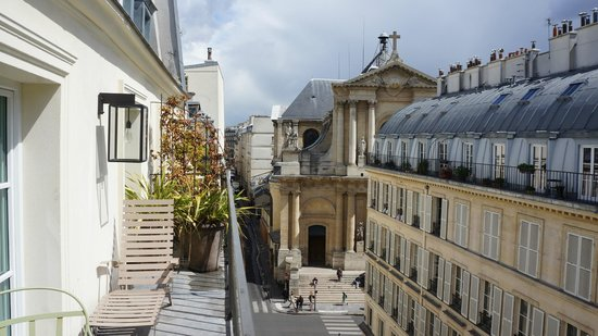 Hotel Le Pradey: Left view from balcony