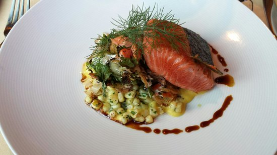 Salmon Dinner Was Delicious Picture Of Applewood Inn