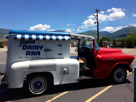 Pace's Dairy Ann: Pace's Vintage Truck