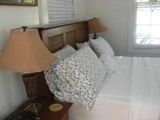 Key West Bed and Breakfast: Blue Room