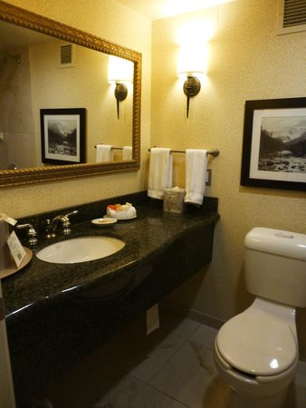 Lake Louise Inn: Bathroom - also has shower and tub