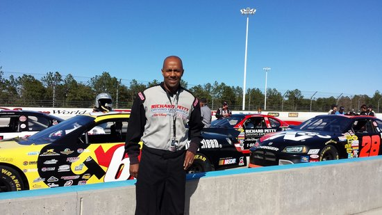 Richard Petty Driving Experience: A smile is worth a thousand words!!