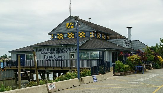 The outside of the Flying Beaver Bar & Grill