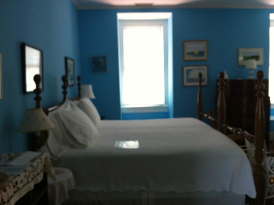 15 Church Street Bed & Breakfast - Phillips-Yates-Snowden House : Blue room