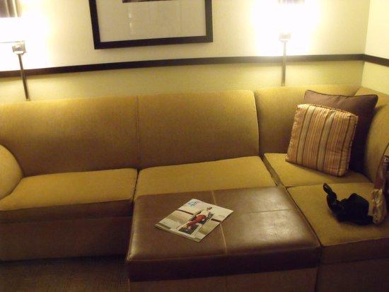 Hyatt Place Nashville/Opryland: Living space