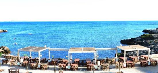 Santa Caterina, Italia: I Tavoli sul Mare del Barrueco