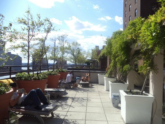 Hudson Hotel New York: Rooftop Terrace