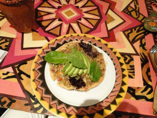 Cuisine Maia lentil ceviche at maia's puerto vallarta - picture of maia
