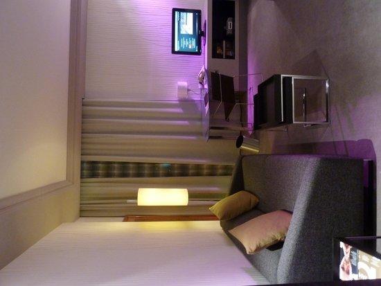 InterContinental Berlin: sofa/study desk