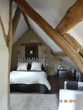 Domaine de Givre: Upstairs bedroom