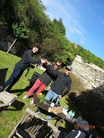 Domaine de Givre: relax in the garden