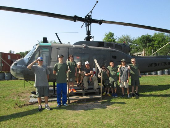 Patriots Point Naval & Maritime Museum : Vietnam camp