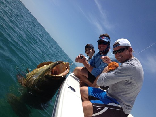 Florida Inshore Xtream Charters: GOLIATH GROUPER BABY!!!