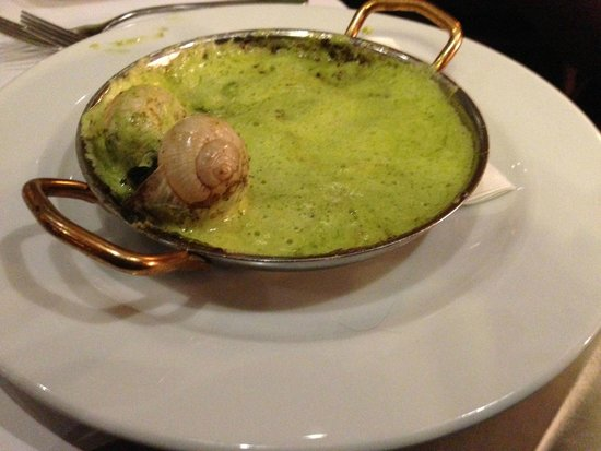 Bistro Thierry: Snails (oops forgot to take a photo before digging in)