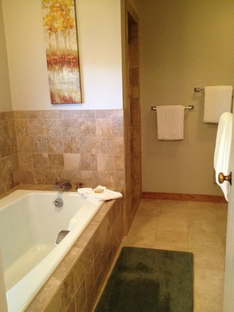 Spring Creek Ranch: MBR bathroom