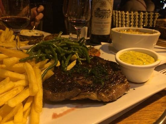 Le Malakoff: steak with an attitude.