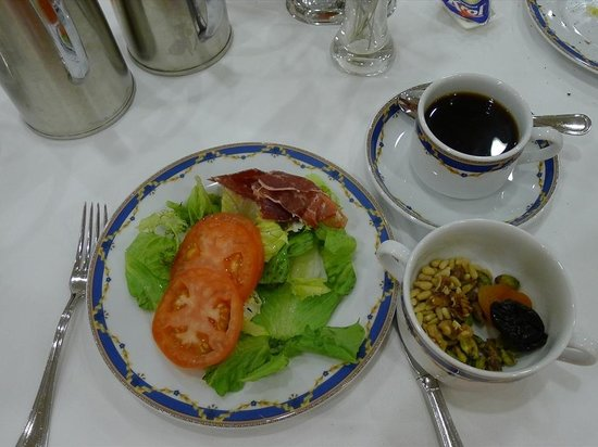 Madrid Marriott Auditorium Hotel & Conference Center: 朝食