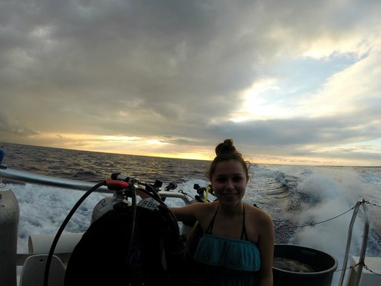 Big Island Divers : Enroute to the dive spot
