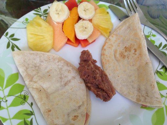 Hostel Quetzal: Café da manhã
