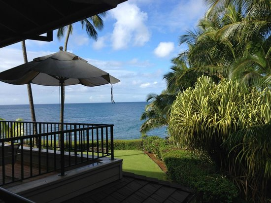 Whalers Cove Oceanfront Resort : View from our lanai
