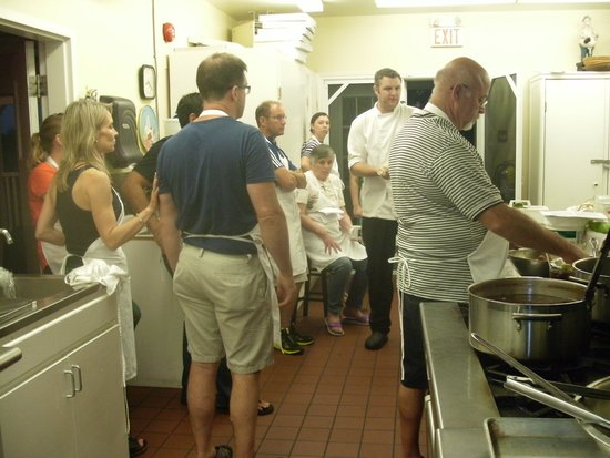 The Waring House: cooking class